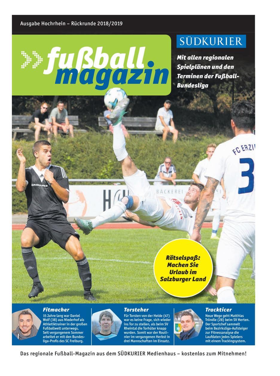 Fußballmagazin Hochrhein (Südkurier)